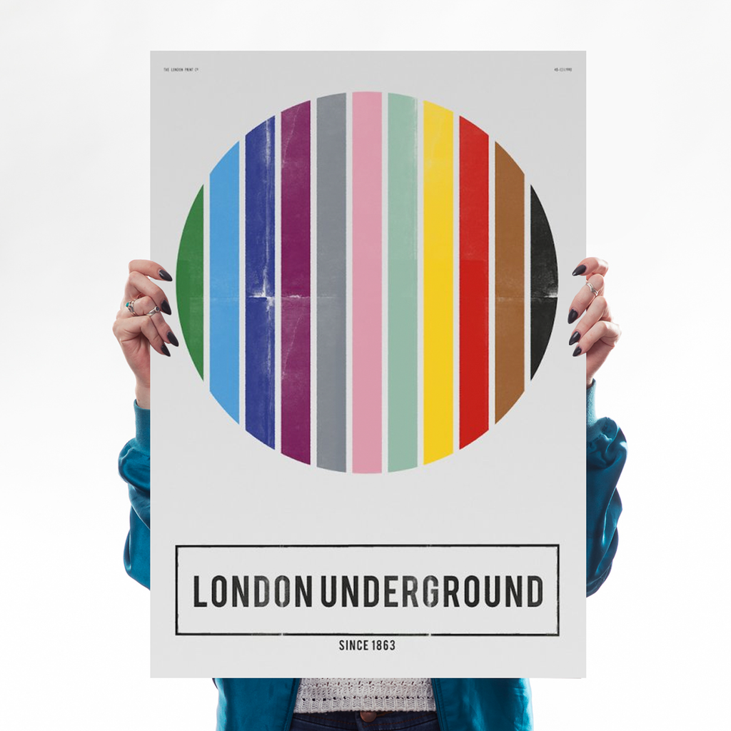 London Underground Art Lifestyle Nick Cranston for We Built This City 1