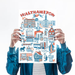 Walthamstow Illustrated Map