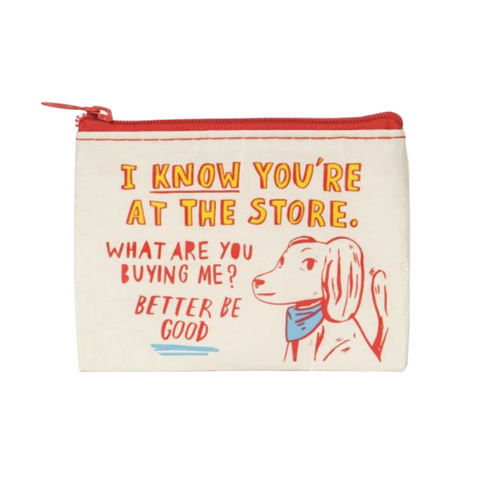 Coin Purse - At The Store, What Are You Buying Me