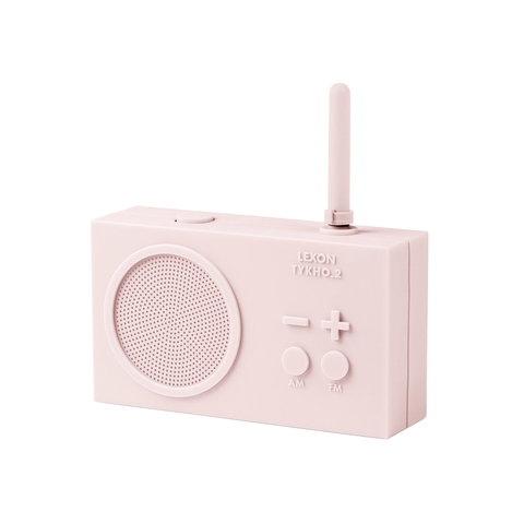 Rechargeable Radio Pink