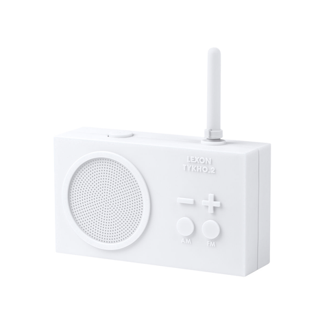 Rechargeable Radio White