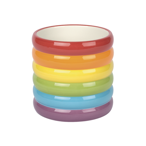 Ceramic Rainbow Pot