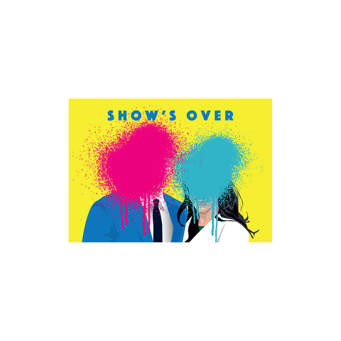 Show's Over Harry & Megs (postcard) - Sabi Koz