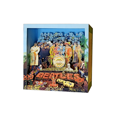 Tatebanko Sgt Pepper Pop Up Album Cover