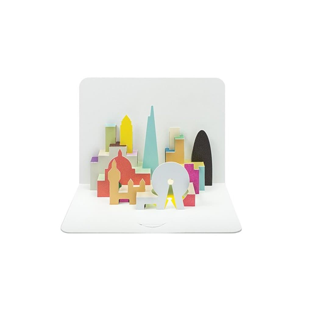 London Skyline (card) - The Art File