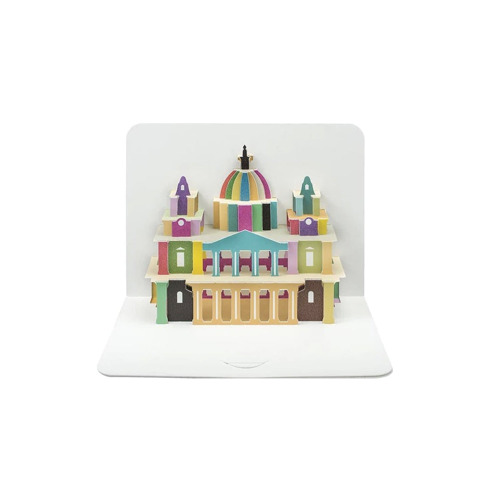 St Pauls Cathedral (card) - The Art File Stationery The Art File for We Built This City 1