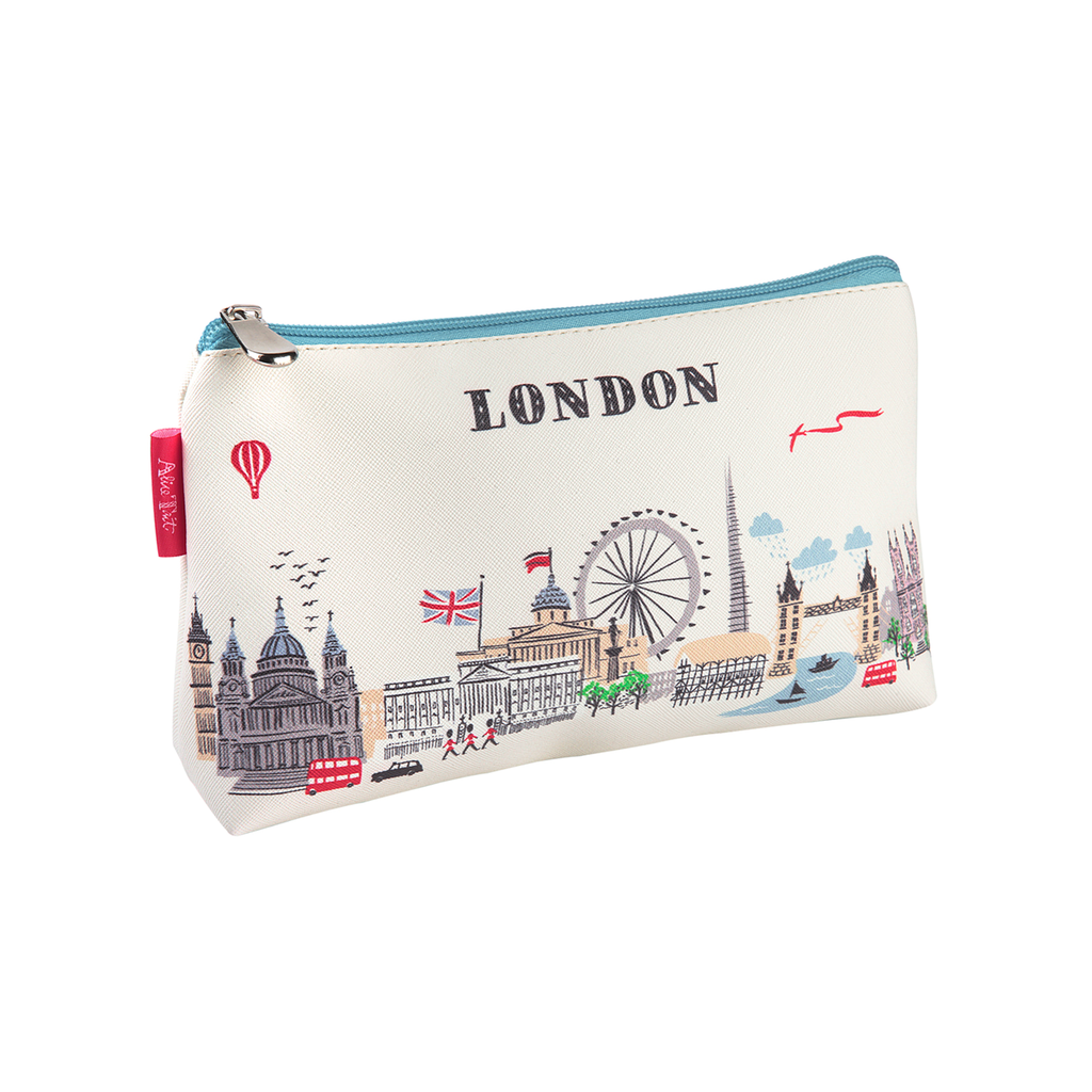 Alice Tait Illustrated Map Cosmetic Bag Fashion - Pouches Temple Island Collection for We Built This City 1