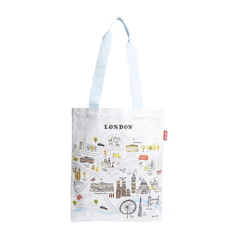 London Map Tote Bag