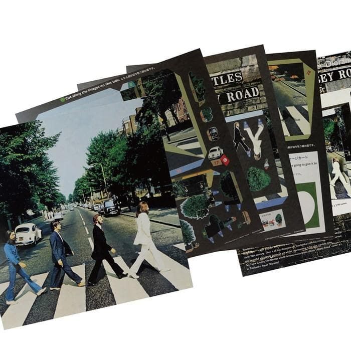 Tatebanko Abbey Road Pop Up Album Cover