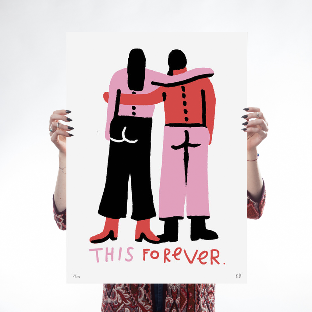 This Forever II Art Feminist Rozalina Burkova for We Built This City 1