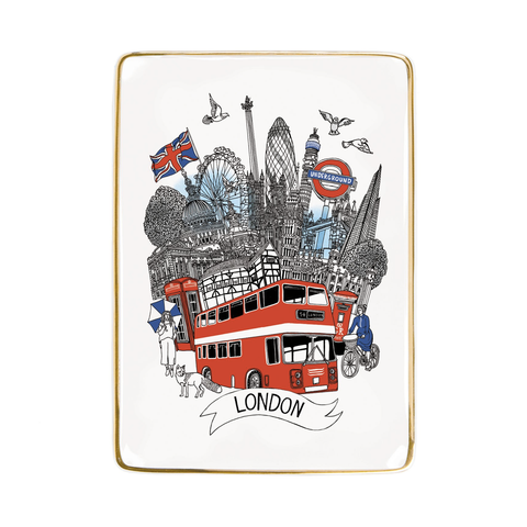 London Medium Porcelain Tray
