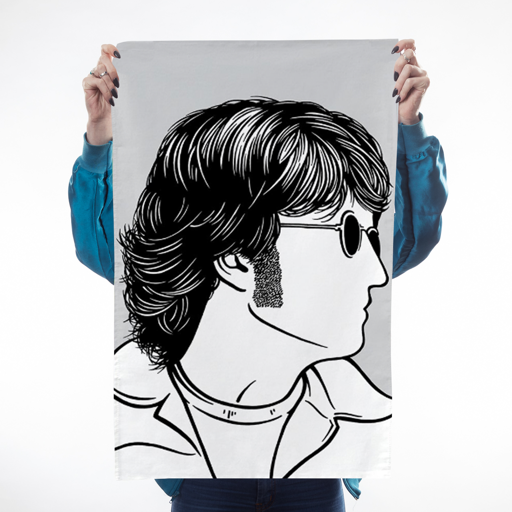 Icons Lennon Tea Towel Kitchen Textiles - Teatowels Bold & Noble for We Built This City 1