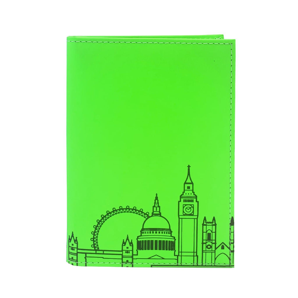 Leather Skyline Passport Cover Green Travel Accessories - Passport Holders UnderCover for We Built This City 1