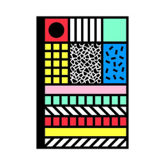 Camille Walala Tribal Pop Notebook