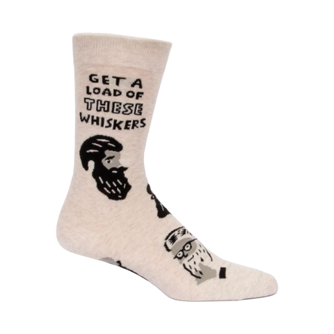 Get A Load Of These Whiskers M-Crew Socks