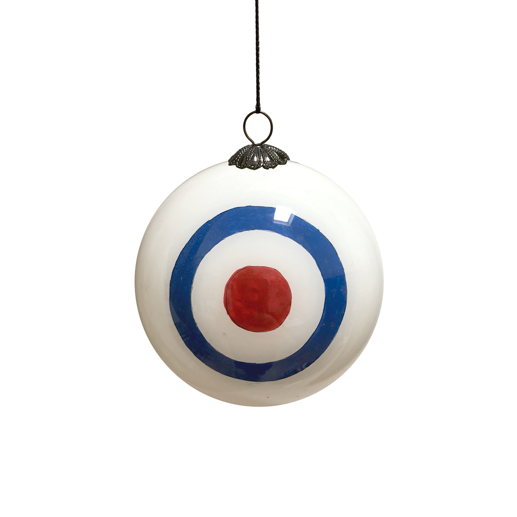 The Who Hand Painted Bauble