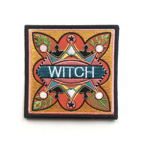 Witch Iron On Patch