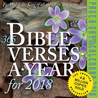 365 Bible Verses-A-Year Page-A-Day Calendar 2018