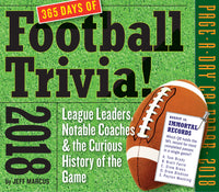 A Year of Football Trivia! Page-A-Day Calendar 2018
