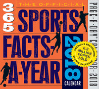 The Official 365 Sports Facts-A-Year Page-A-Day Calendar 2018