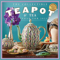 Collectible Teapot & Tea Wall Calendar 2021