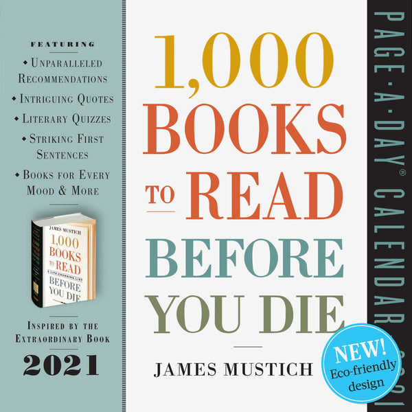 1,000 Books to Read Before You Die Page-A-Day Calendar 2021