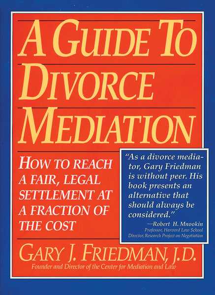 A Guide to Divorce Mediation