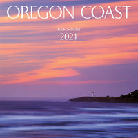 Oregon Coast Wall Calendar 2021