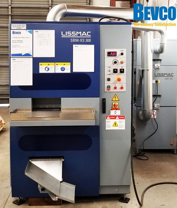 New Lissmac Deburring Machine - SMB-XS 300 G1E1