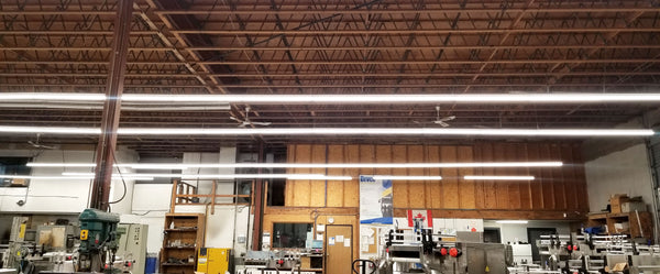 Bevco New LED Lighting System Installed in the shop