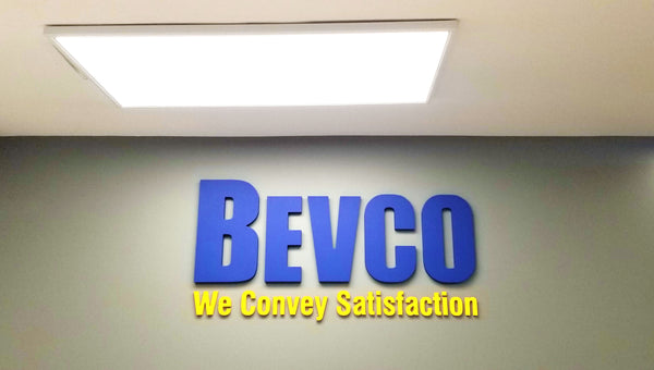 Bevco LED Lighting System in the Front Desk