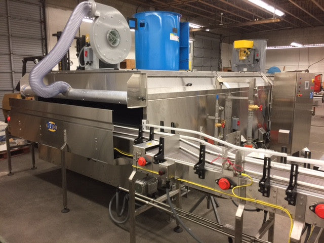 The Bevco Cooling Tunnel: A Cool Solution for a Hot-Filled Product