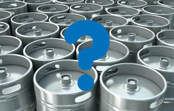 Multiple Kegs with a big question mark