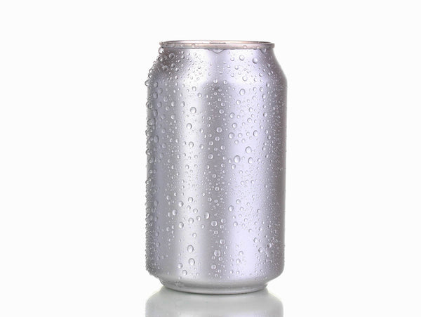 Wet aluminum Can
