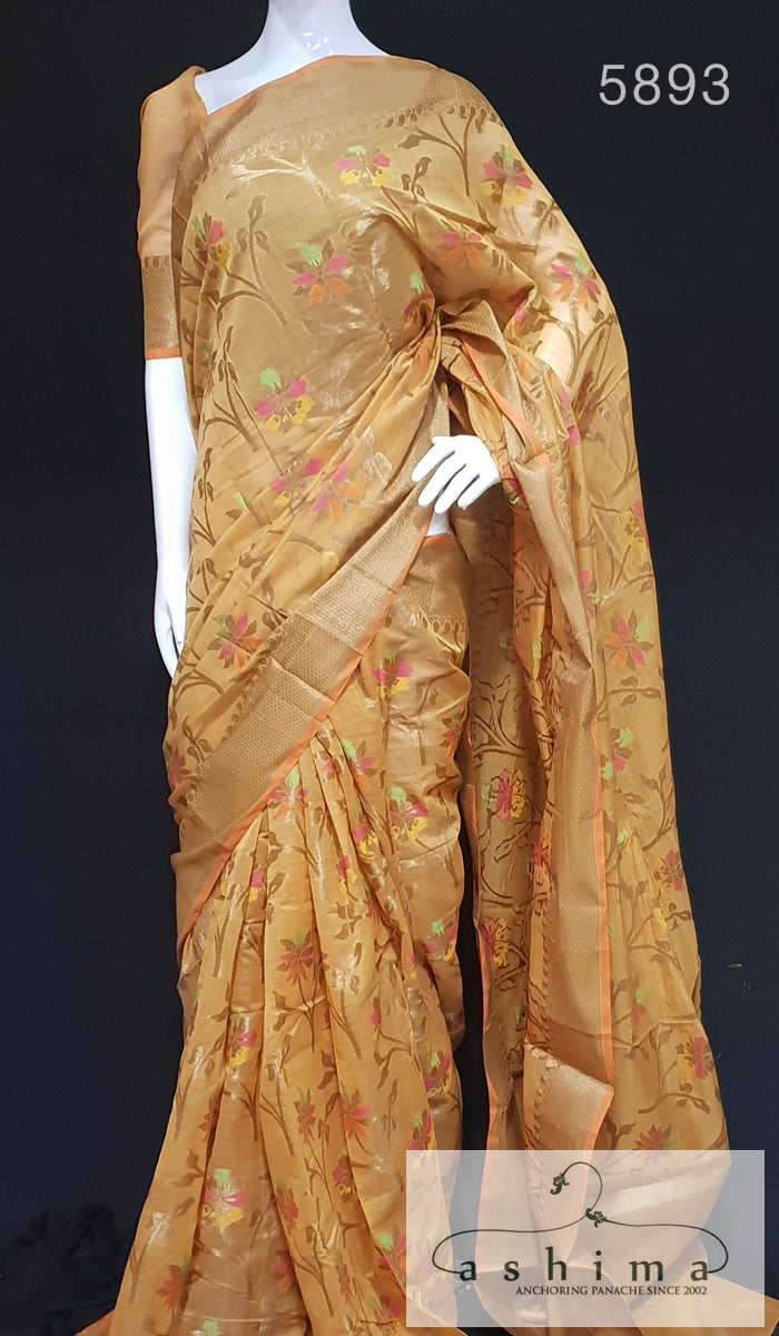Semi Banarasi Saree 5893