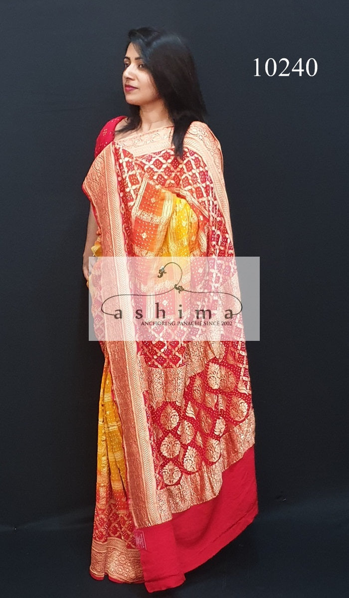Banarasi Georgette Saree 10240