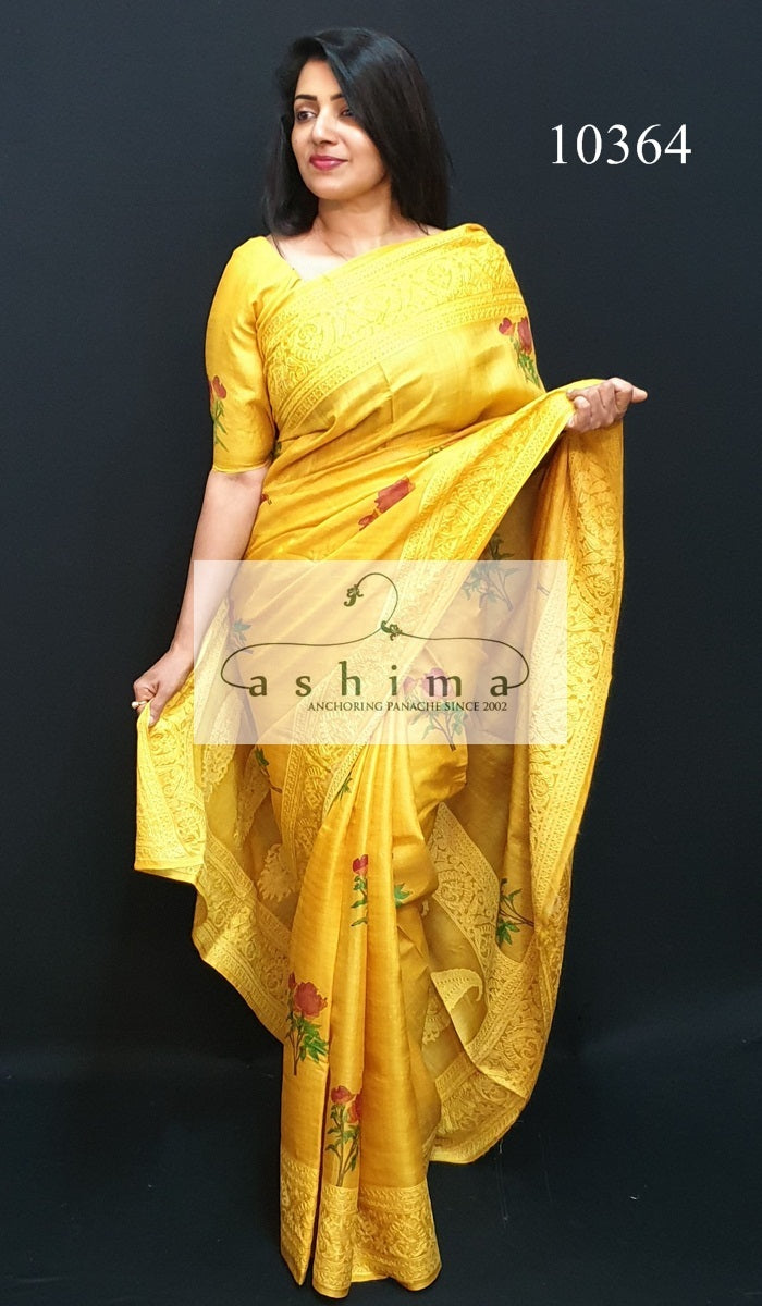 Tussar Silk Saree 10367