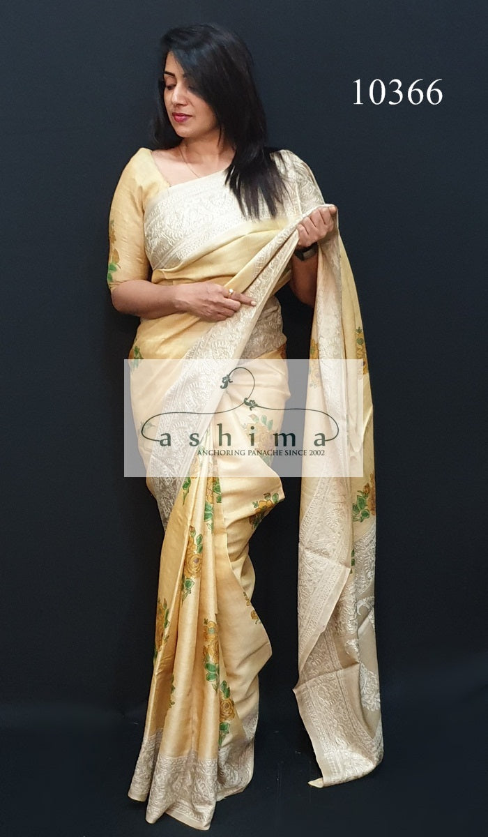 Tussar Silk Saree 10366