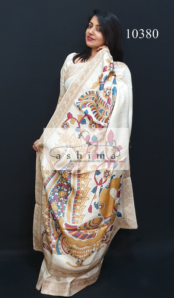10380 Tussar Silk Saree