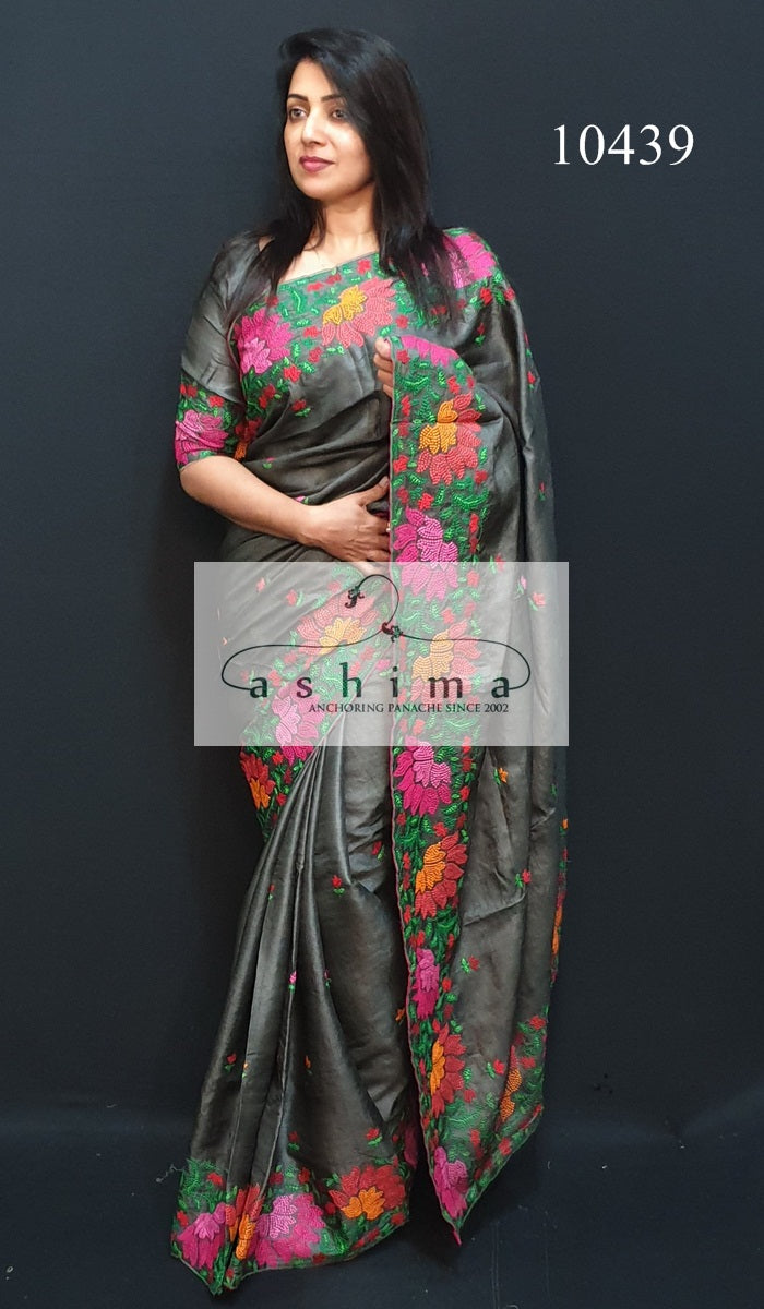 10438 Tussar Silk Saree