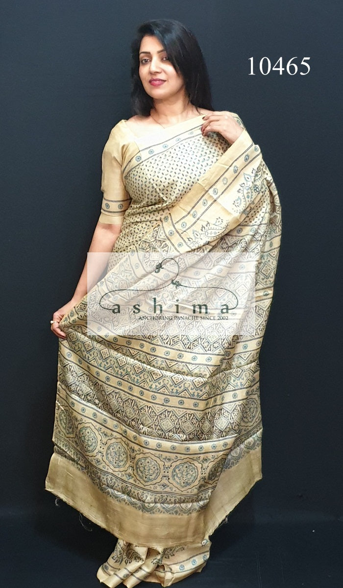 Tussar Silk Saree 10465