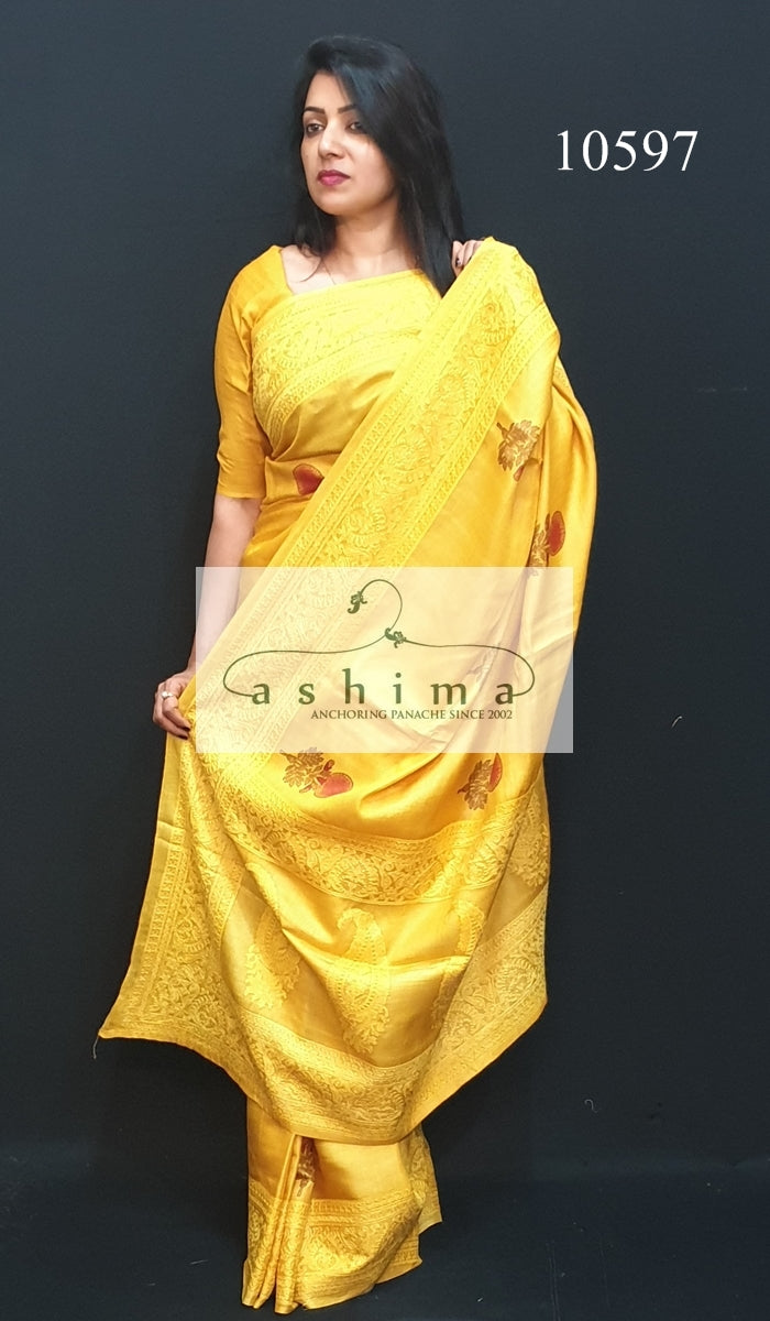 10597 Tussar Silk Saree