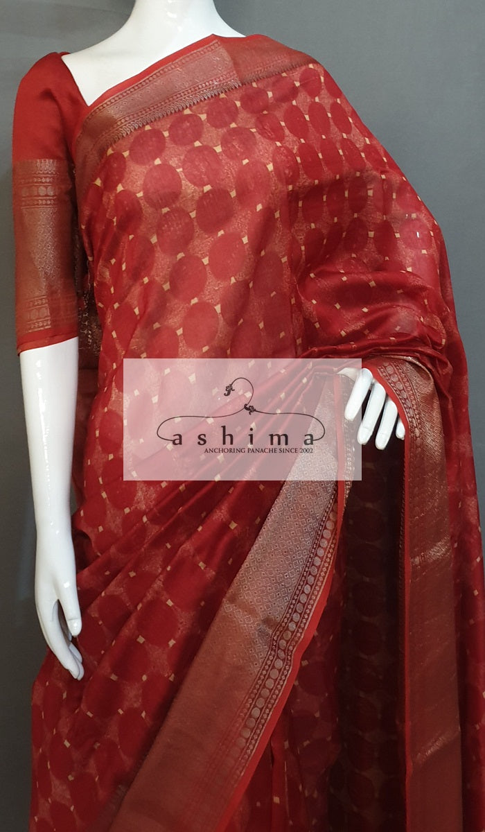 Chanderi Saree 12618
