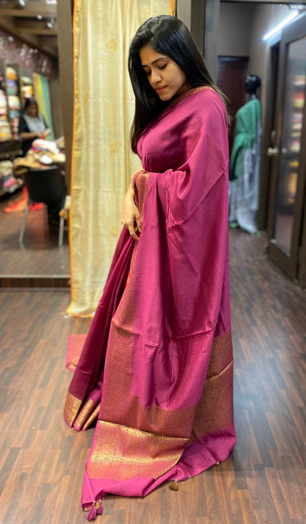 Chanderi saree 13795
