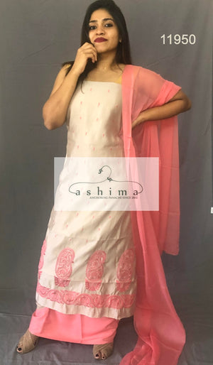 Unstitched salwar suit 11950