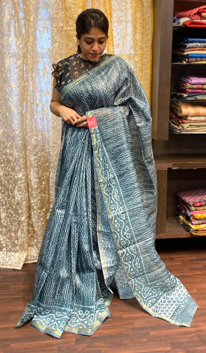 Semi silk saree 14328