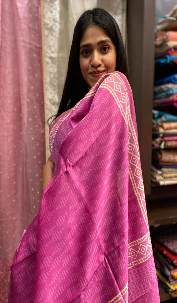Chanderi saree 14262