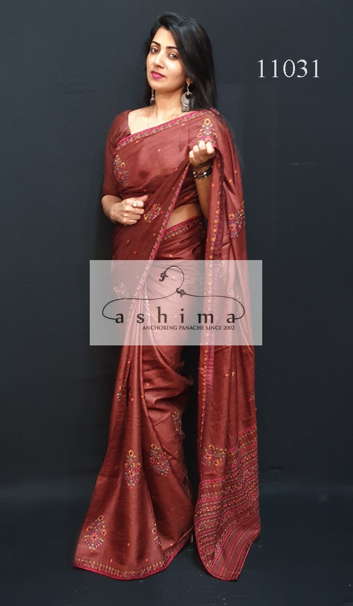Tussar silk saree 11031