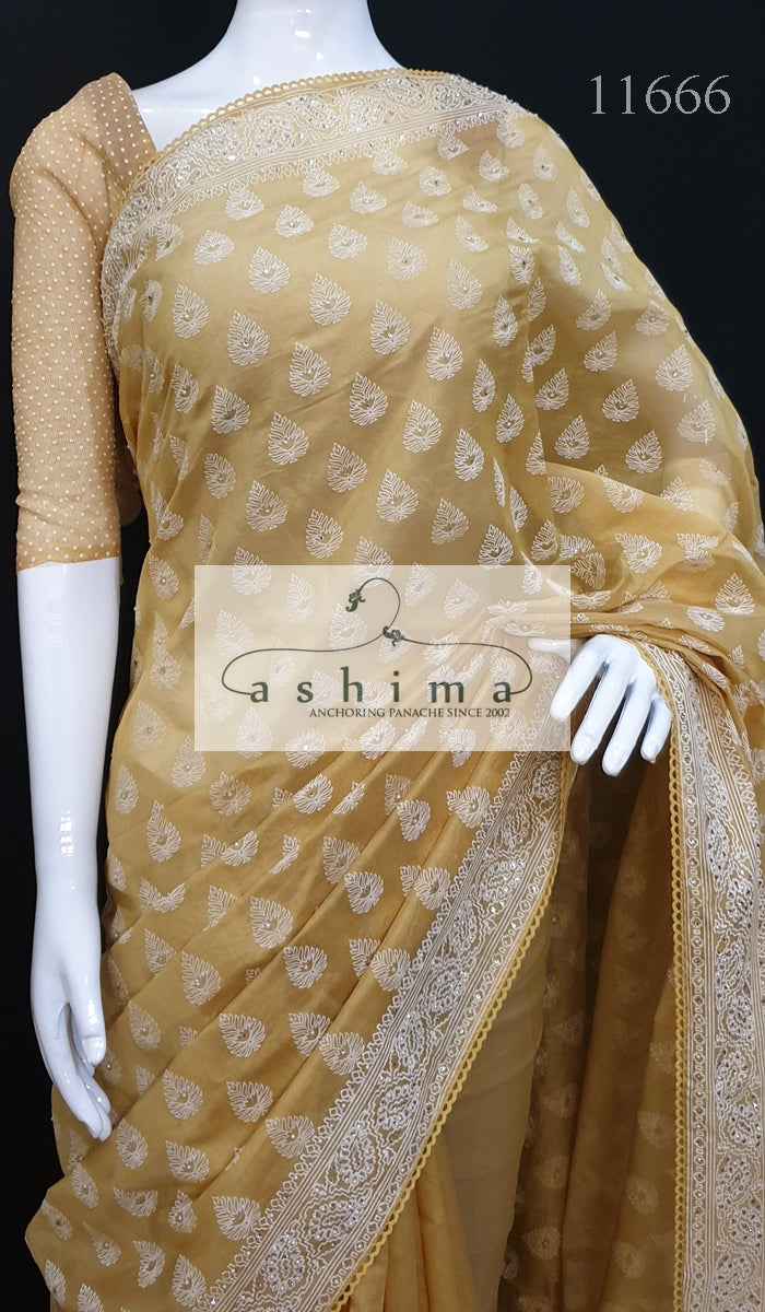 Chanderi Saree 11666