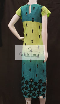 Shaded cotton Kurti- Medium - Kurti 23